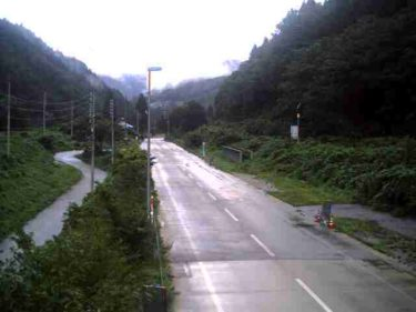 国道360号 宮川新大橋  北のライブカメラ 岐阜県飛騨市