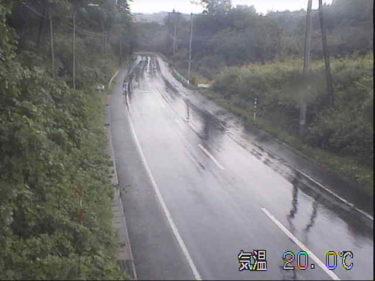 国道395号 猿越峠のライブカメラ|岩手県軽米町