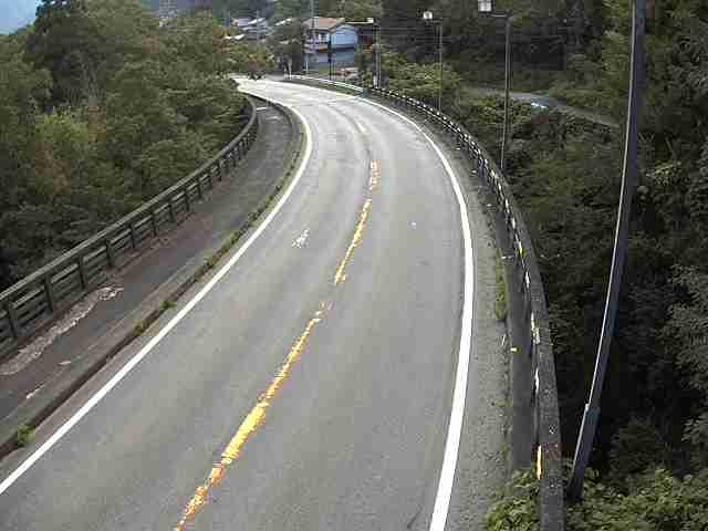 国道472号 二間手 北のライブカメラ|岐阜県郡上市