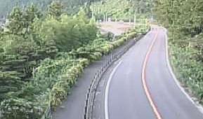 国道52号 万沢のライブカメラ 山梨県南部町