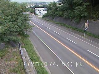 国道7号 大館市早口のライブカメラ|秋田県大館市
