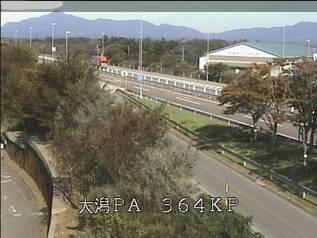 北陸自動車道 上越市大潟パーキングエリアのライブカメラ|新潟県上越市