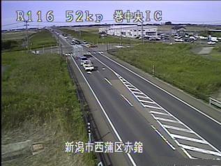 国道116号 新潟市西蒲区赤鏥のライブカメラ|新潟県新潟市