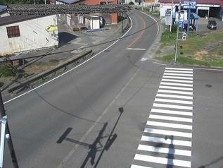 国道117号 小千谷市岩沢 のライブカメラ 新潟県小千谷市