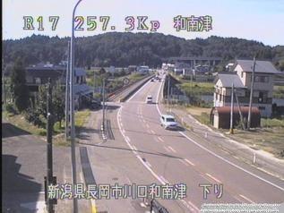 国道17号 長岡市川口和南津のライブカメラ|新潟県長岡市