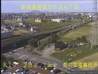 国道17号 長岡市中沢のライブカメラ|新潟県長岡市