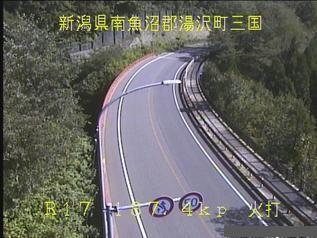 国道17号 湯沢町火打のライブカメラ|新潟県湯沢町