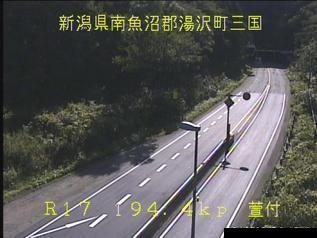 国道17号 湯沢町萱付のライブカメラ|新潟県湯沢町