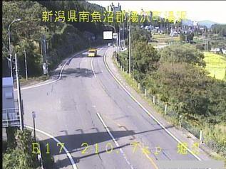 国道17号 湯沢町湯沢のライブカメラ|新潟県湯沢町