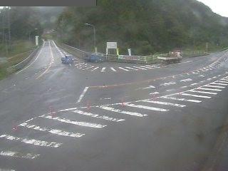 国道179号 三朝町穴鴨のライブカメラ|鳥取県三朝町