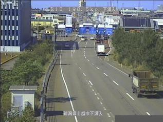 国道18号 上越市下源入のライブカメラ|新潟県上越市