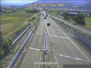 国道18号 妙高市柳井田町のライブカメラ|新潟県妙高市