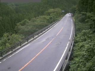 国道181号 日野町板井原のライブカメラ|鳥取県日野町