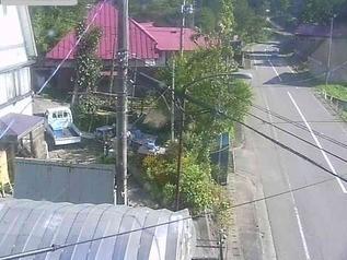 国道292号 新井地域長沢周辺 のライブカメラ|新潟県妙高市