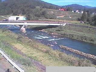 国道292号 猿橋橋と関川のライブカメラ|新潟県妙高市