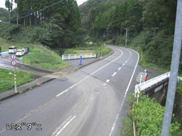 国道304号 清水谷のライブカメラ|石川県金沢市