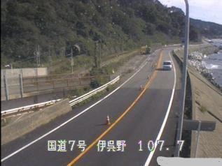 国道7号 村上市伊呉野のライブカメラ|新潟県村上市