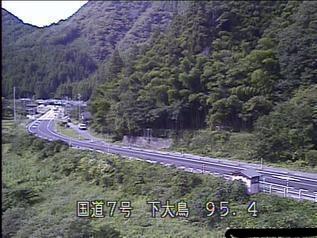 国道7号 村上市下大鳥のライブカメラ|新潟県村上市