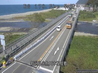 国道8号 糸魚川市早川橋のライブカメラ|新潟県糸魚川市