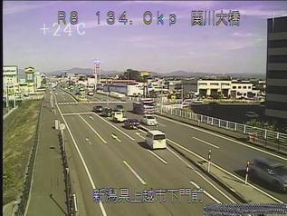 国道8号 上越市関川大橋のライブカメラ|新潟県上越市