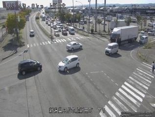 国道8号 見附市上新田のライブカメラ|新潟県見附市