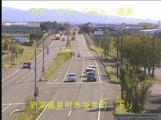 国道8号 見附市坂井町のライブカメラ|新潟県見附市