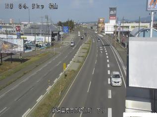 国道8号 長岡市福山町のライブカメラ|新潟県長岡市