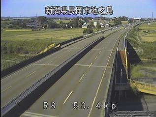 国道8号 長岡市池之島のライブカメラ|新潟県長岡市