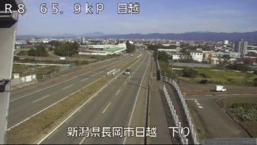 国道8号 長岡市上除町のライブカメラ|新潟県長岡市