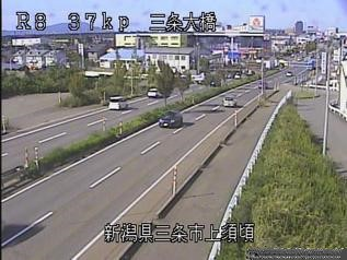 国道8号 三条市上須頃のライブカメラ|新潟県三条市