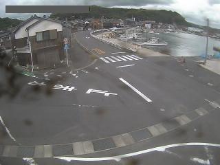 鳥取県道162号 湯梨浜町泊のライブカメラ|鳥取県湯梨浜町
