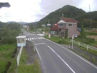 鳥取県道46号 伯耆町二部のライブカメラ|鳥取県伯耆町