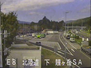 北陸自動車道路 賤ヶ岳SAのライブカメラ|滋賀県長浜市