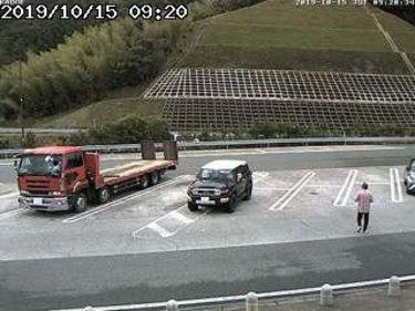 舞鶴若狭自動車道路 加斗PAのライブカメラ|福井県小浜市