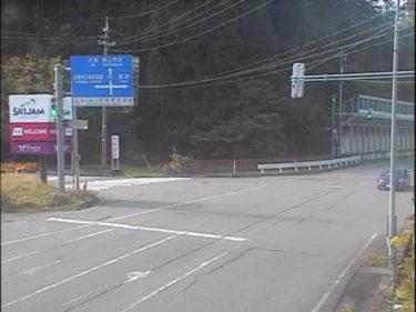 国道157号 暮見のライブカメラ 福井県勝山市