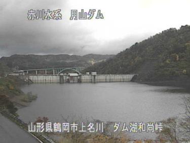 梵字川 和尚峠のライブカメラ 山形県鶴岡市