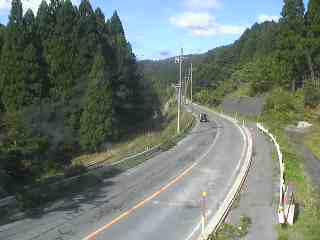 国道303号 寒風トンネル東のライブカメラ|滋賀県高島市