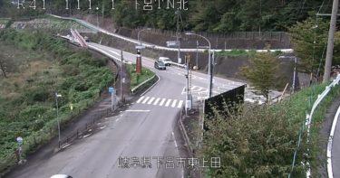 国道41号 下呂トンネル北のライブカメラ|岐阜県下呂市