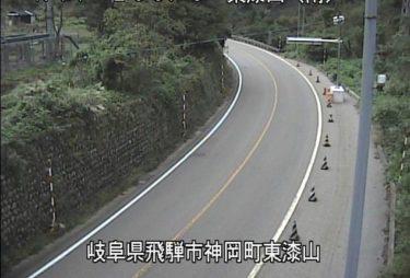 国道41号 東漆山(南)のライブカメラ|岐阜県飛騨市