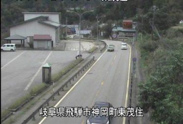 国道41号 東茂住のライブカメラ|岐阜県飛騨市