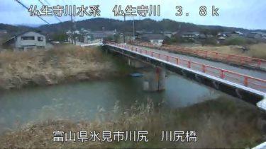 仏生寺川 川尻橋のライブカメラ|富山県氷見市