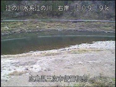江の川 伊賀和志のライブカメラ|広島県三次市