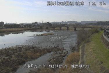 揖保川 龍野量水版のライブカメラ|兵庫県たつの市