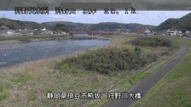 狩野川 狩野川大橋のライブカメラ|静岡県伊豆市