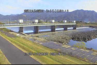 球磨川 球磨川堰下流のライブカメラ|熊本県八代市