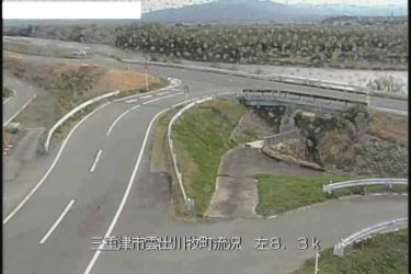 出雲川 庄村流況のライブカメラ|三重県津市