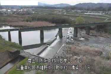 波瀬川 波瀬川合流点のライブカメラ|三重県津市