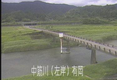 中筋川 有岡のライブカメラ 高知県四万十市