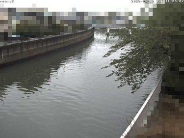 呑川 夫婦橋下流のライブカメラ|東京都大田区