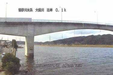大橋川 八幡水位観測所のライブカメラ 島根県松江市